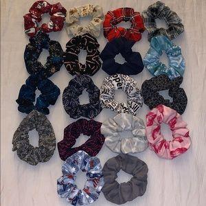 18 PC Custom Scrunchie Set